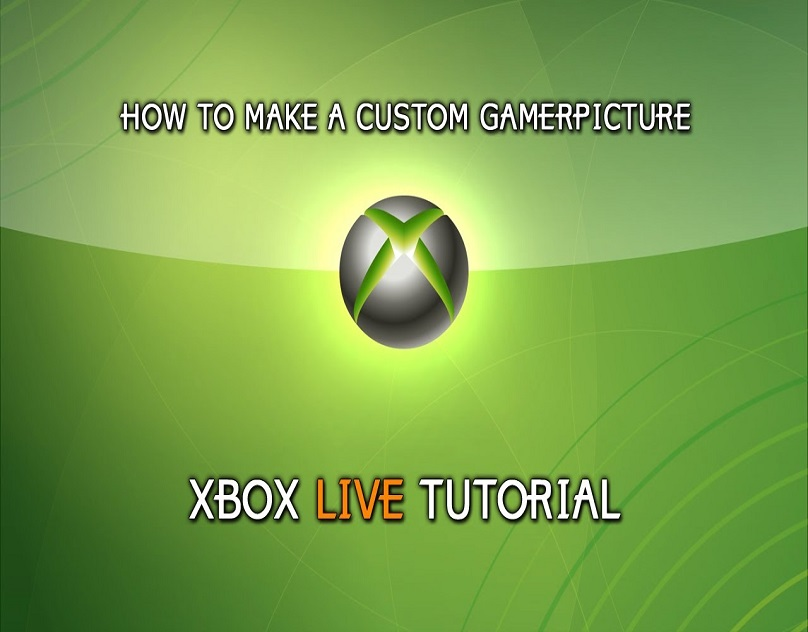 How To Create A Custom Gamerpic For The Xbox Live Profile It Support